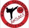 logo du club AKSAM  Karaté  shotokan   Collège La Salle Amiens 80000
