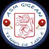 logo du club ASM GIGEAN TENNIS DE TABLE