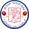 logo du club ASM GIGEAN TENNIS DE TABLE