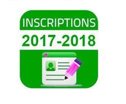 Inscriptions pour la saison 2017/2018
