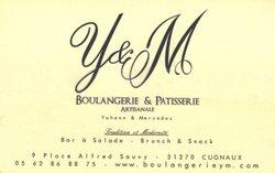 Boulangerie M et Y