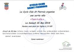 """Sortie convention pré accueil """"Tous à vélo"""" samedi 26 mai"""