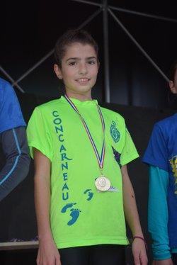 Resultats Championnat du Finistere de cross à Lesneven 2015