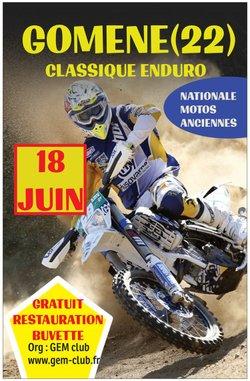 CLASSIQUE ENDURO GOMENE ( 22 ) 18 JUIN 2017