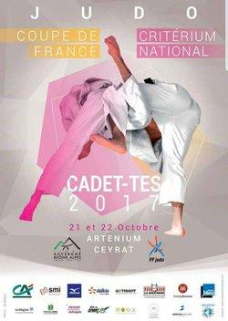 Coupe de France cadets Ceyrat 21 octobre 2017