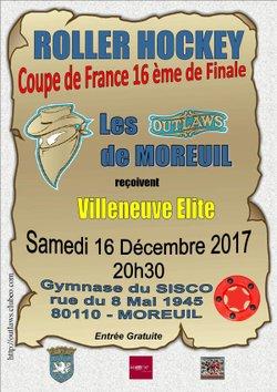 16ème de Finale de la Coupe de France.