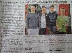 Tournoi Jeunes de St Berthevin