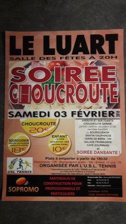 SOIREE CHOUCROUTE DE L'USL TENNIS