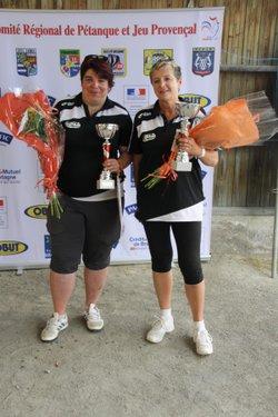 Championnat de Bretagne doublette féminin