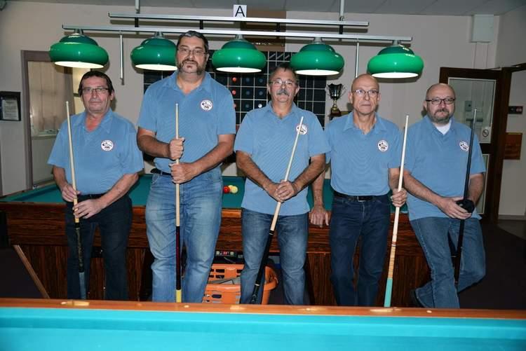 Equipe 3 Bandes D4 2017-2018