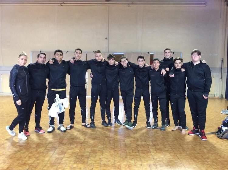 Équipe cadets masculine