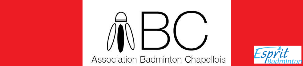Association Badminton Chapellois : site officiel du club de badminton de LA CHAPELLE D ARMENTIERES - clubeo