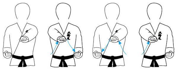 Karate: golpes de puño  Choku-zuki01__mjob92