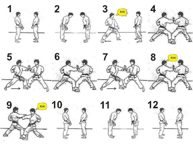 Karate blocking techniques