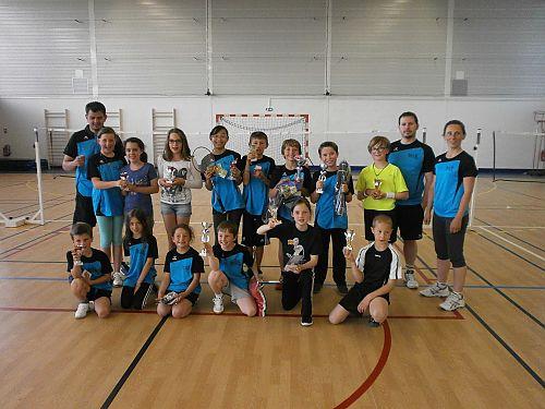 Compétiteurs du championnat enfants 2014