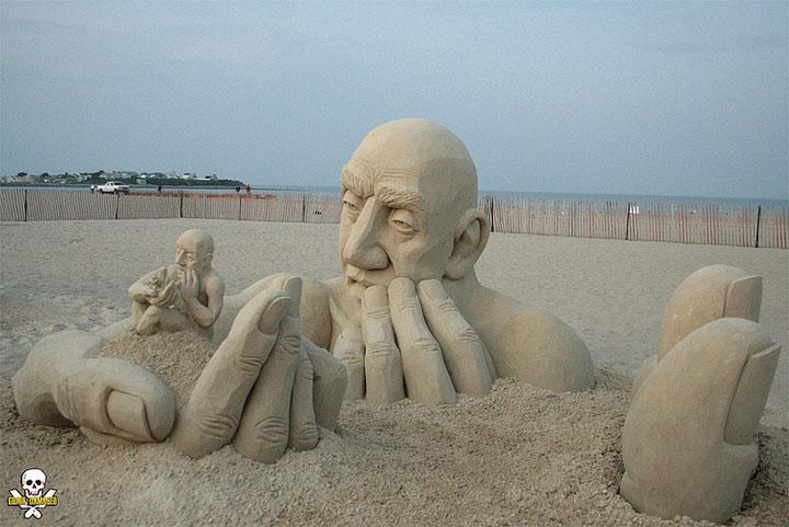 Art du sable