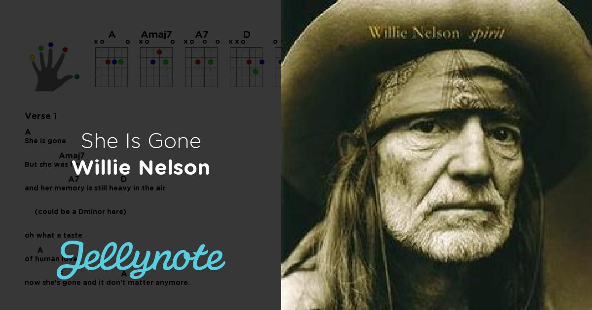 Willie Nelson - She Is Gone