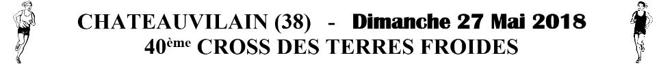 Cross des Terres Froides : site officiel du club d'athlétisme de CHATEAUVILLAIN - clubeo