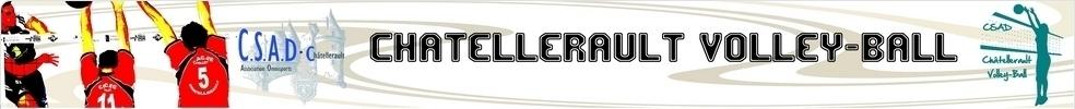 CSAD Chatellerault Volleyball : site officiel du club de volley-ball de CHATELLERAULT - clubeo