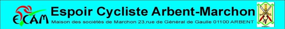 Espoir Cycliste Arbent Marchon : site officiel du club de cyclisme de ARBENT - clubeo
