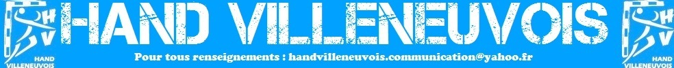 Site Internet officiel du club de handball Hand Villeneuvois