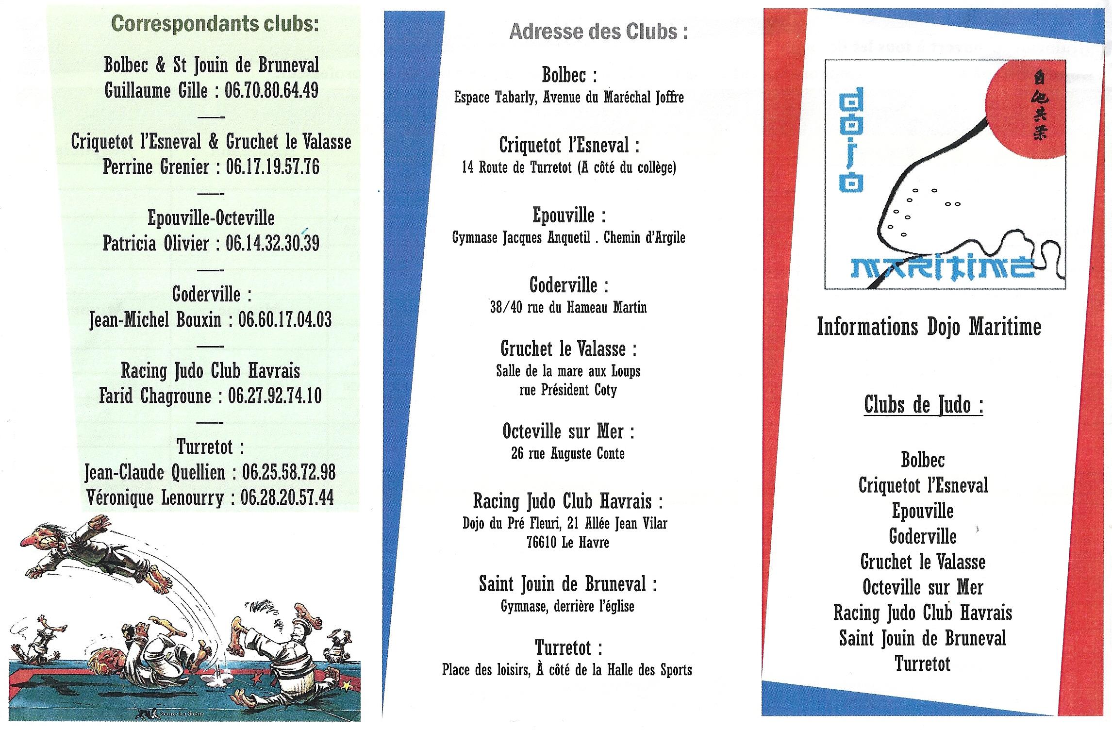 informations Dojo Maritime