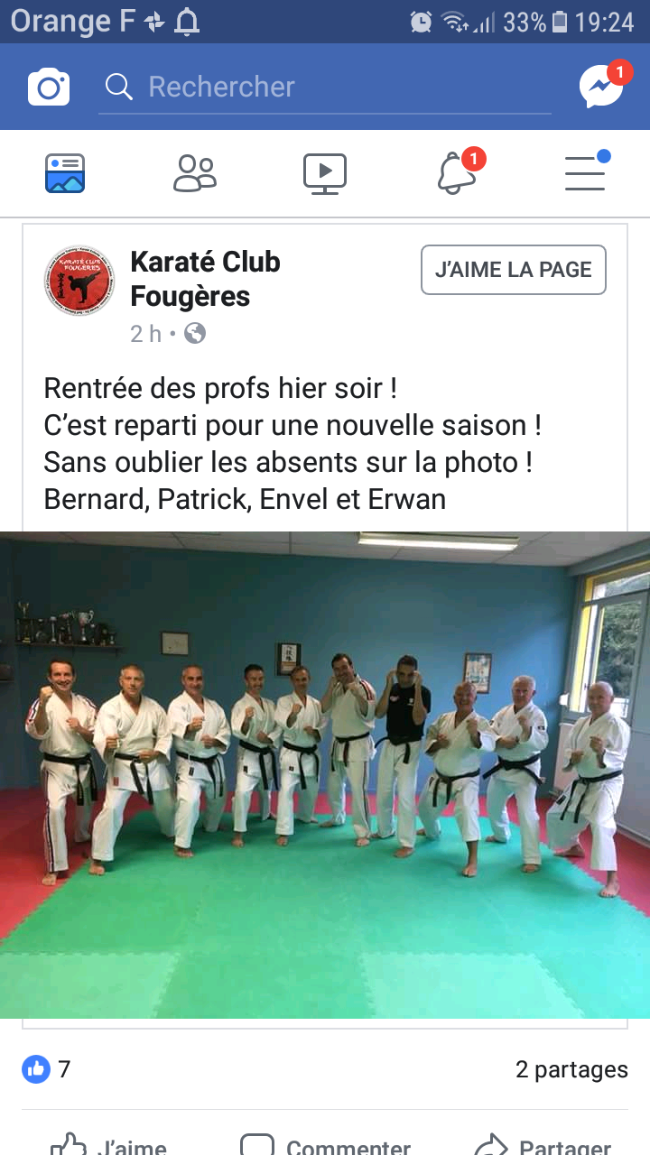 Karaté club Fougères