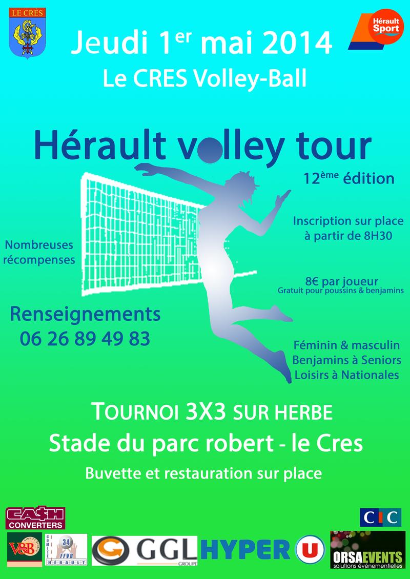 Tournoi 3x3 Volley Le Crès
