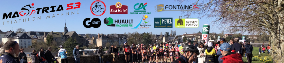 Mastria 53 : site officiel du club de triathlon de Mayenne - clubeo
