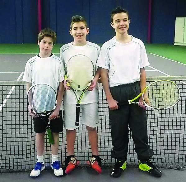 Garçons (13-14 ans) 15-16 compète, équipe 1