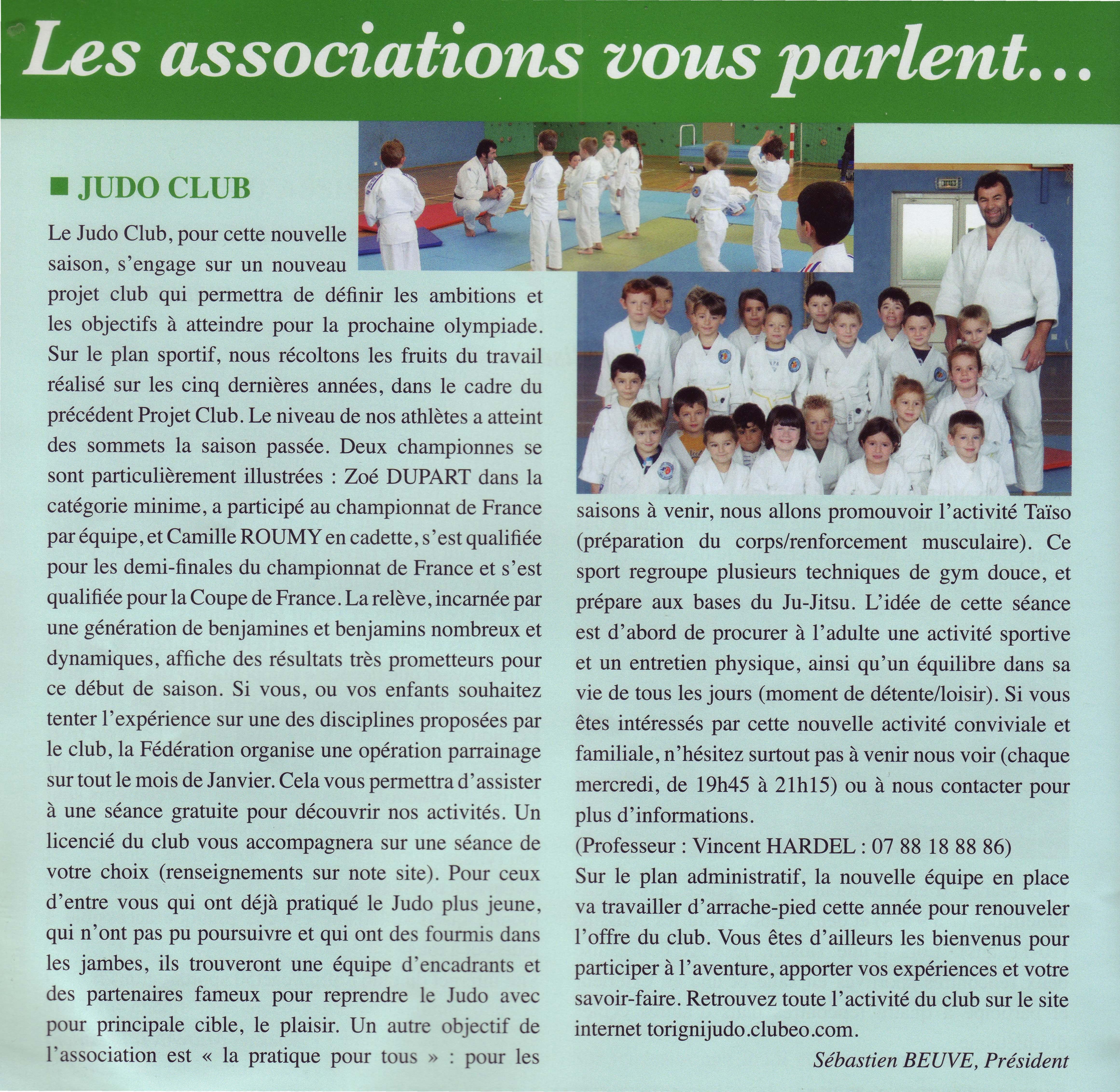 Article Condé Echos