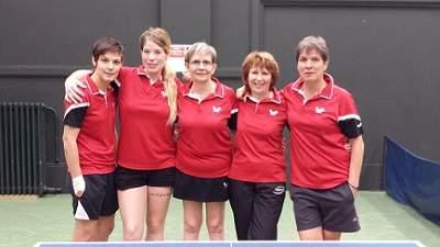 Equipe 1 - Féminine Régionale 1 - Phase 2 - Poule C