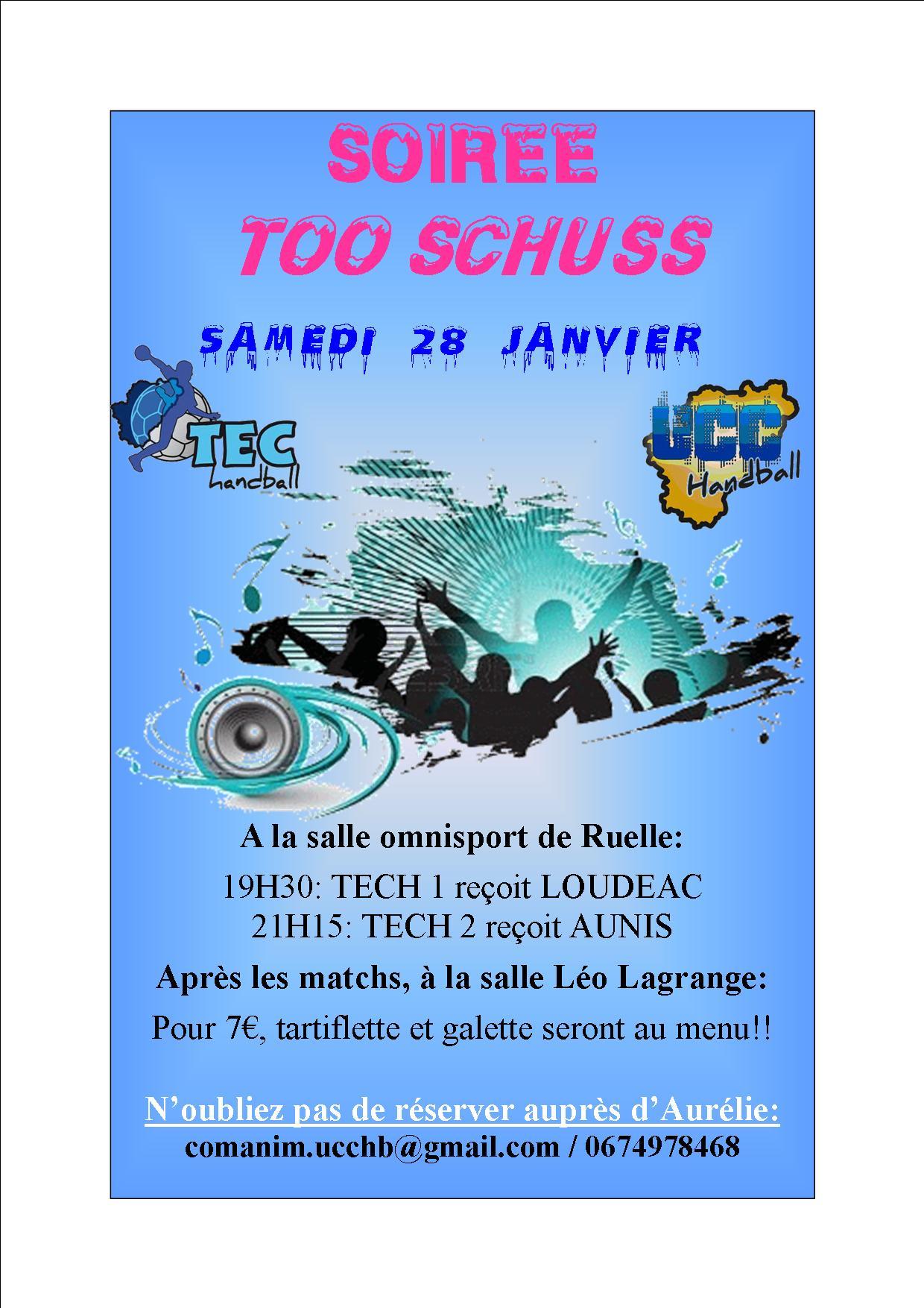 Soirée TOO SCHUSS