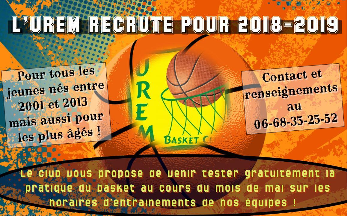 recrutement 2018-2019