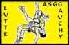 logo du club ASSOCIATION SPORTIVE ET GYMNIQUE DE GAUCHY  LUTTE