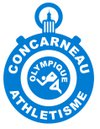 logo du club concarneau olympique athletisme