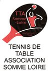 logo du club association sportive tennis de table somme loire