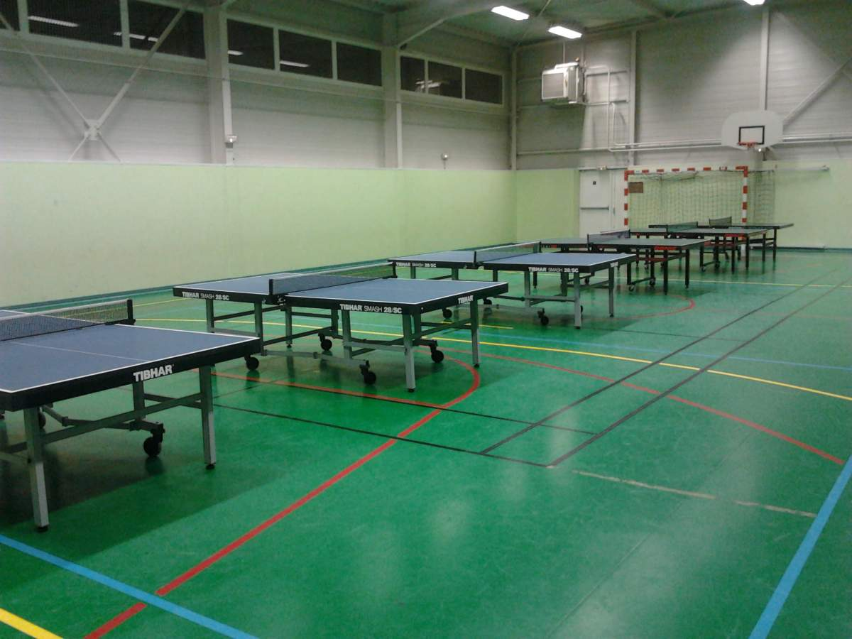 Salle Gymnase Schweitzer Club Tennis De Table Creutzwald Tennis