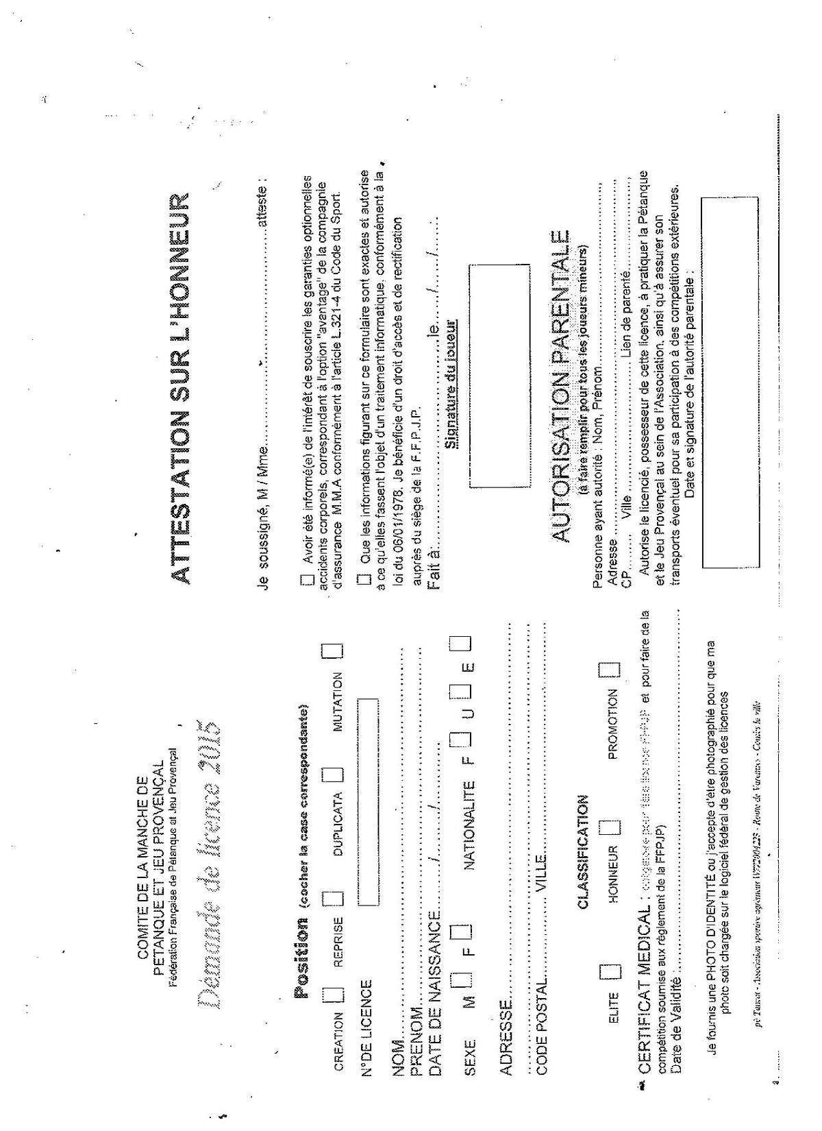 Actualite Certificat Medical Club Petanque Petanque Combs La