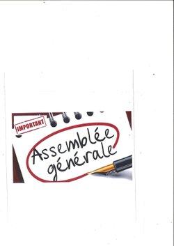 ASSEMBLÉE GÉNÉRALE - Vendredi 23 Novembre
