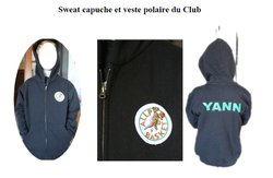 SWEAT ZIPPE CLUB