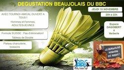 Soirée Beaujolais 15/11/18