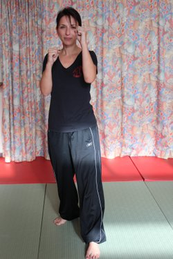 Ingrid Défenses Training