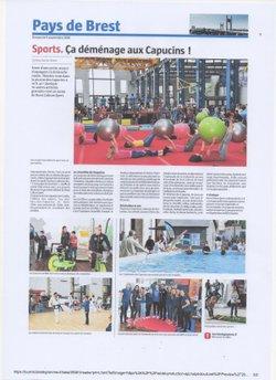 La Légion Brest Gym aux Ateliers des Capucins