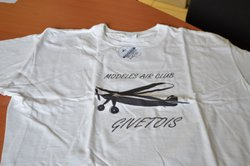 T shirt Blanc MACG