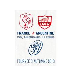 XV De France - Tournée Automne 2018