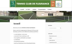 Nouveau site web : http://www.tennisfleurance.fr