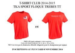T-shirt Trèbes TT