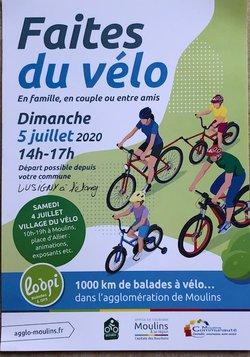"""Le VCL participe à """"Faites du Vélo"""" le 5 juillet 2020"""