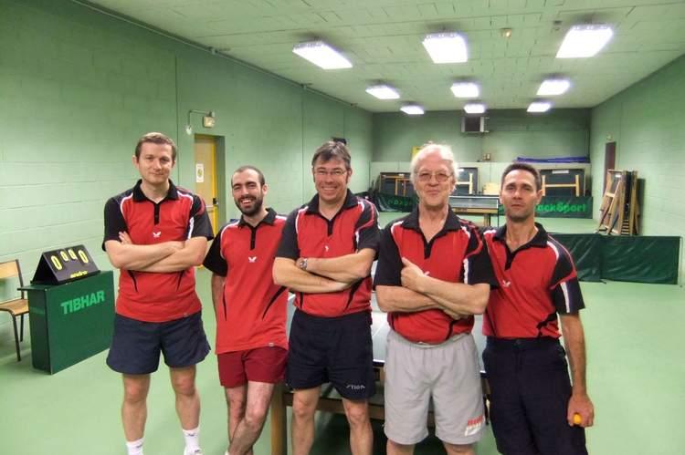 Equipe 1 Pré régional   F.F.T.T